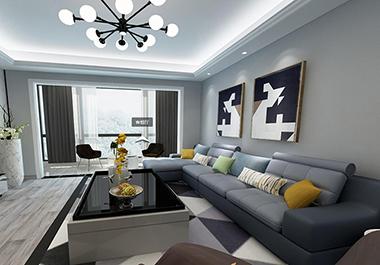 衡阳云沙诗意163㎡ 四室两厅现代风格装修效果图
