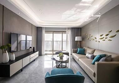 衡阳融冠亲城98㎡ 三室两厅现代风格装修效果图